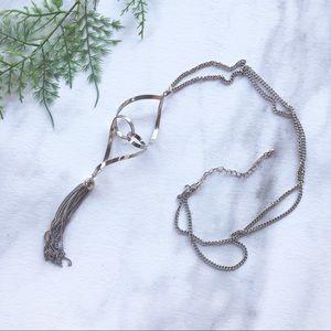 Francesca's Silver Twist Necklace